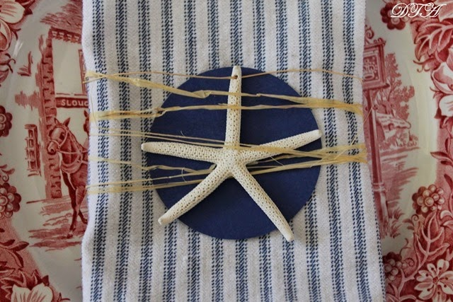 Starfish and Stripes Forever Napkin Rings