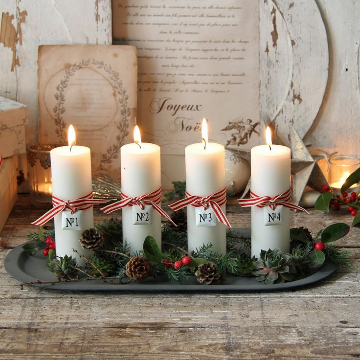 I like this idea - simple & great for Christmas !