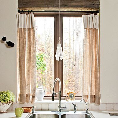 Cottage Kitchen Curtains Cool Inspiration Ideas