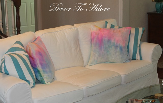 DTA Watercolor Pillows