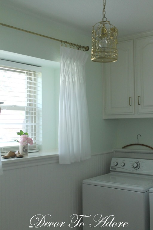 Decor To Adore Laundry Room