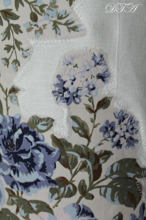 Anthro Applique Curtains
