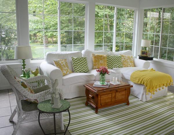 astounding sun porch furniture ideas   Sunroom Décor Ideas - Decor to Adore