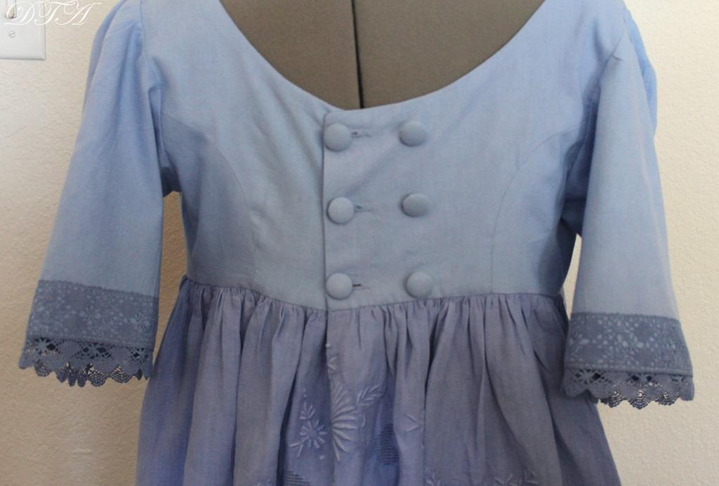 Jane Austen gown