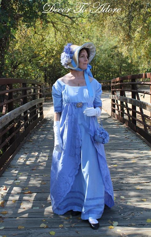 Jane Austen Regency dress