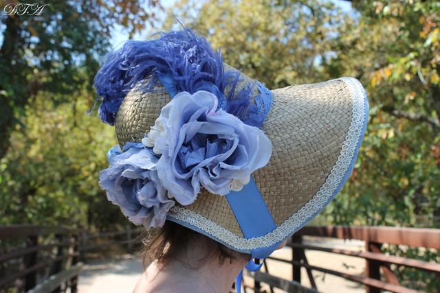 Create a Regency Era Bonnet from a Modern Straw Hat - Decor to Adore