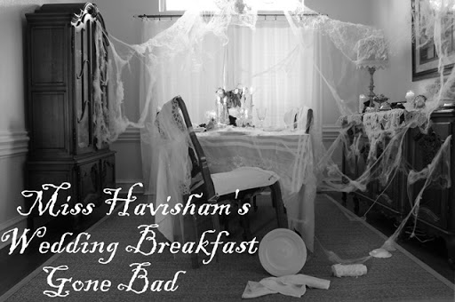 Miss Havisham B & W