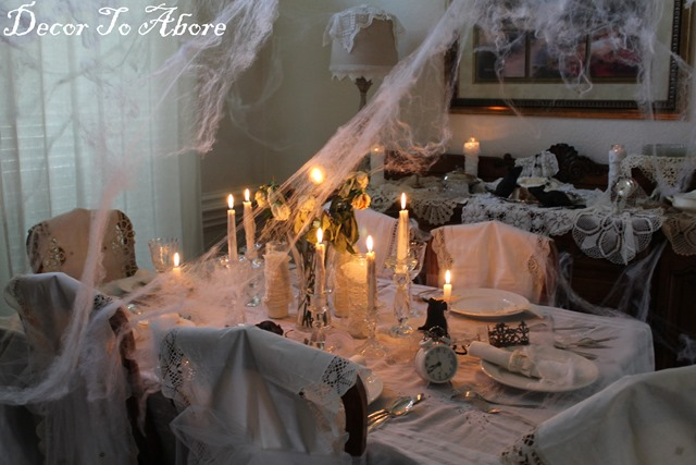 Miss Havisham table