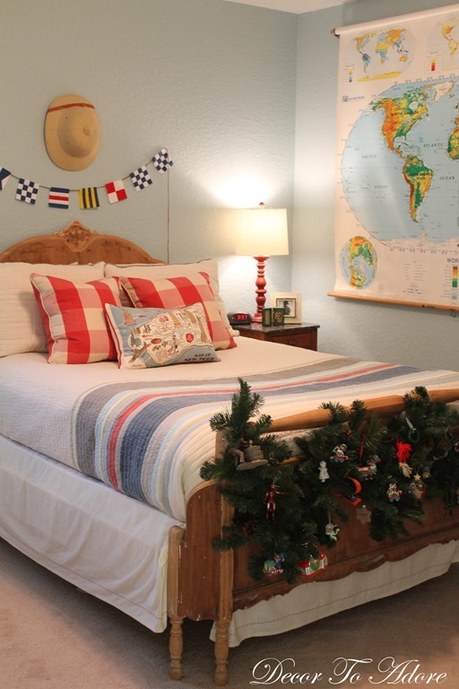 Holiday Home Tour 2015 Sweet Guys bedroom