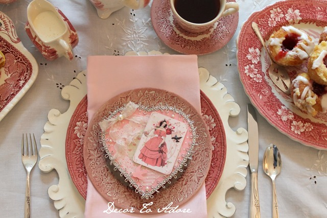 Regency Era Valentine Tea