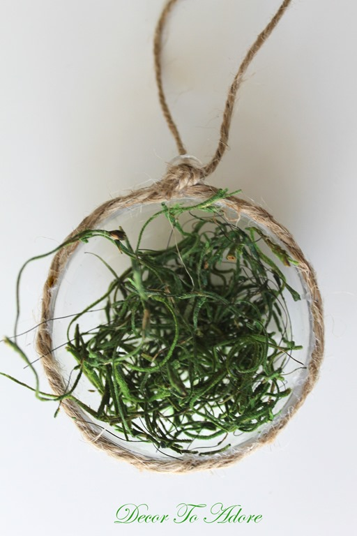 DIY My Nest is Best Spring Ornament
