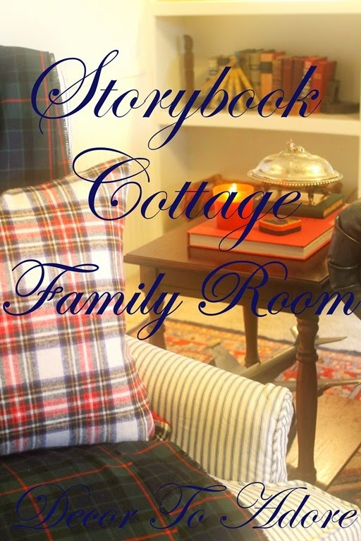 One Room Challenge Week 6 The Family Room Reveal