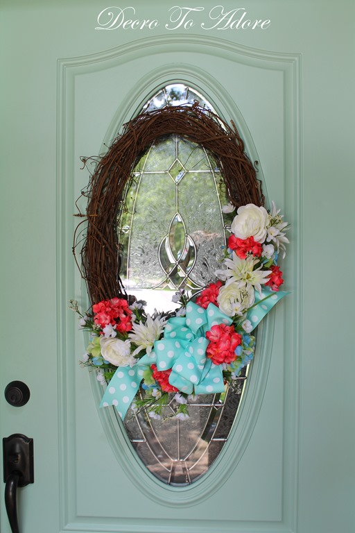 A Sweet Summertime Wreath Decor To Adore