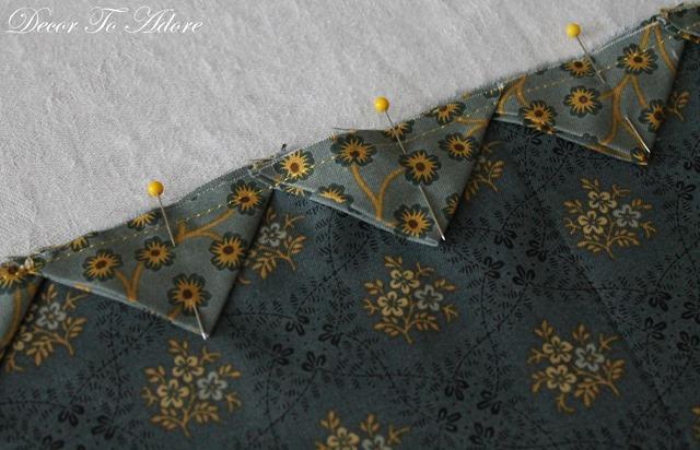 Andover Fabrics pinned points