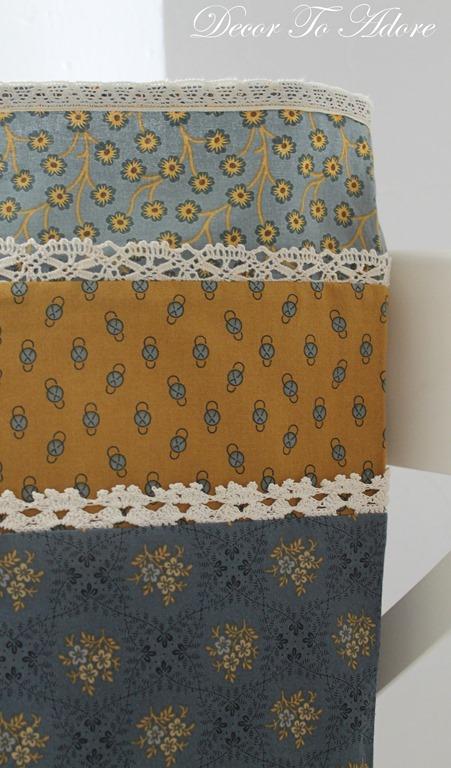 Ma's Lace pillowcase