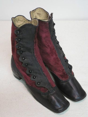 1860-1880 boots