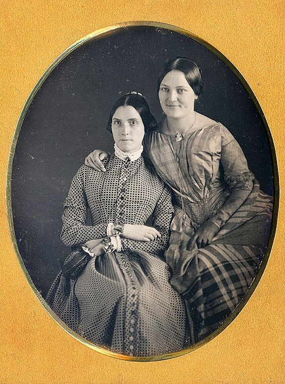 Dennis A. Waters Fine Daguerreotypes women wearing gloves
