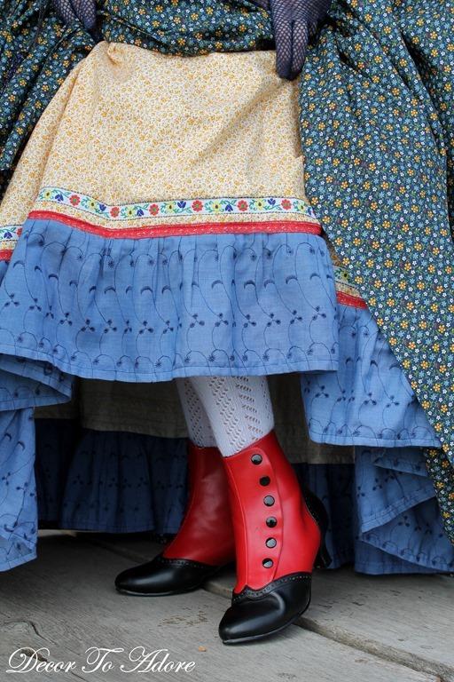Becoming Laura Prairie Patchwork Petticoat