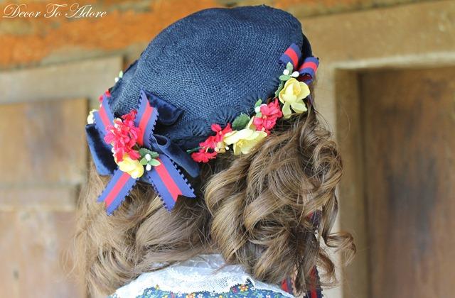 Becoming Laura Ingalls Wilder bonnet side