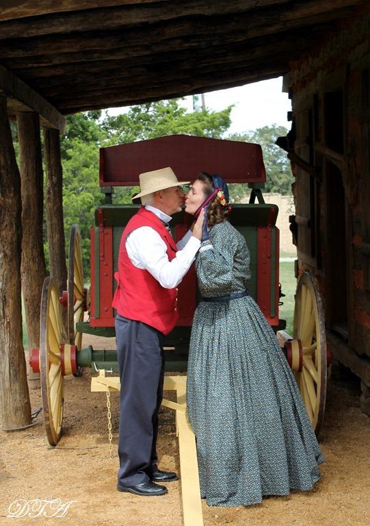 Becoming Laura Ingalls Wilder kissy