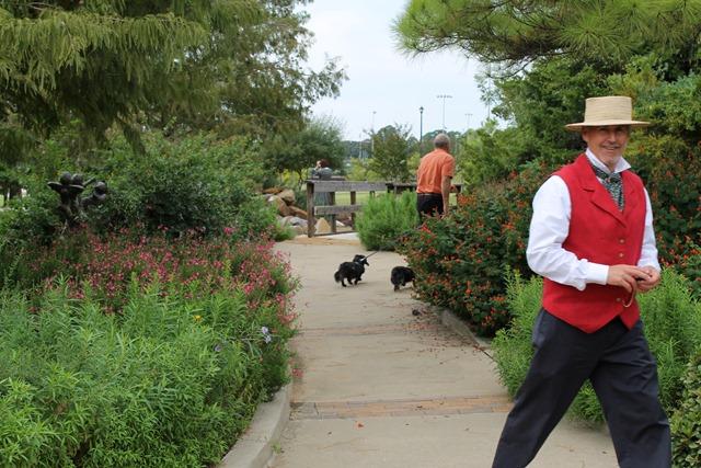 Becoming Laura Ingalls Wilder dachshunds