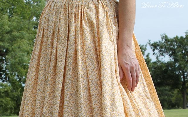 Becoming Laura Ingalls Wilder petticoat