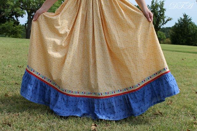Becoming Laura Ingalls Wilder full petticoat