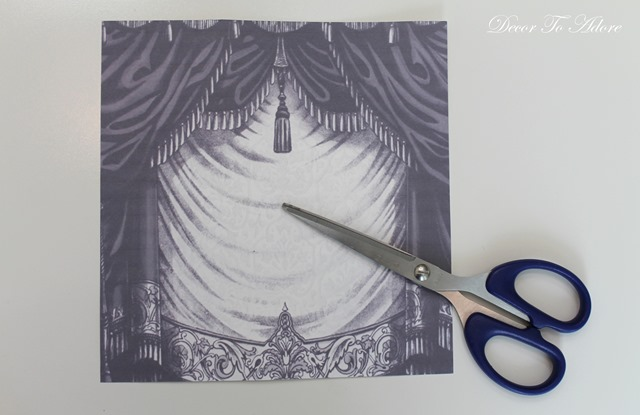 Cinderella  & the Ugly Stepsister Soiree curtain