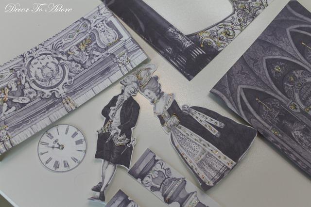 Cinderella  & the Ugly Stepsister Soiree figures
