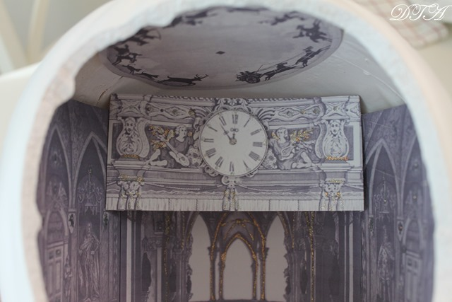 Cinderella  & the Ugly Stepsister Soiree clock
