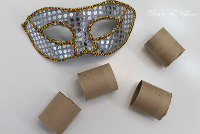 Cinderella & the Ugly Stepsister Soiree napkin rings