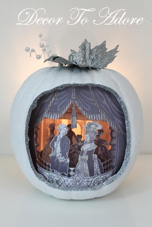 Cinderella & the Ugly Stepsister Soiree pumpkin