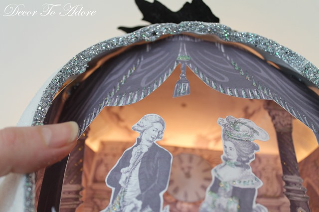 Cinderella  & the Ugly Stepsister Soiree glitter