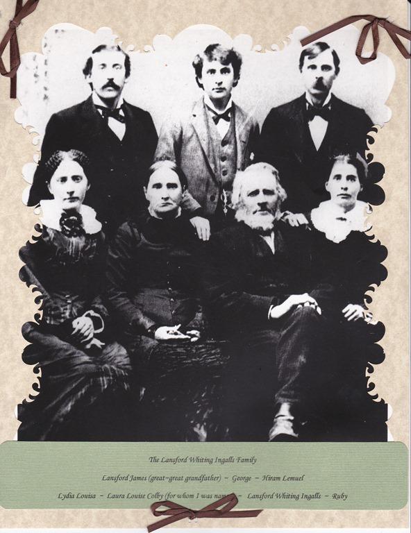 Lansford Ingalls family