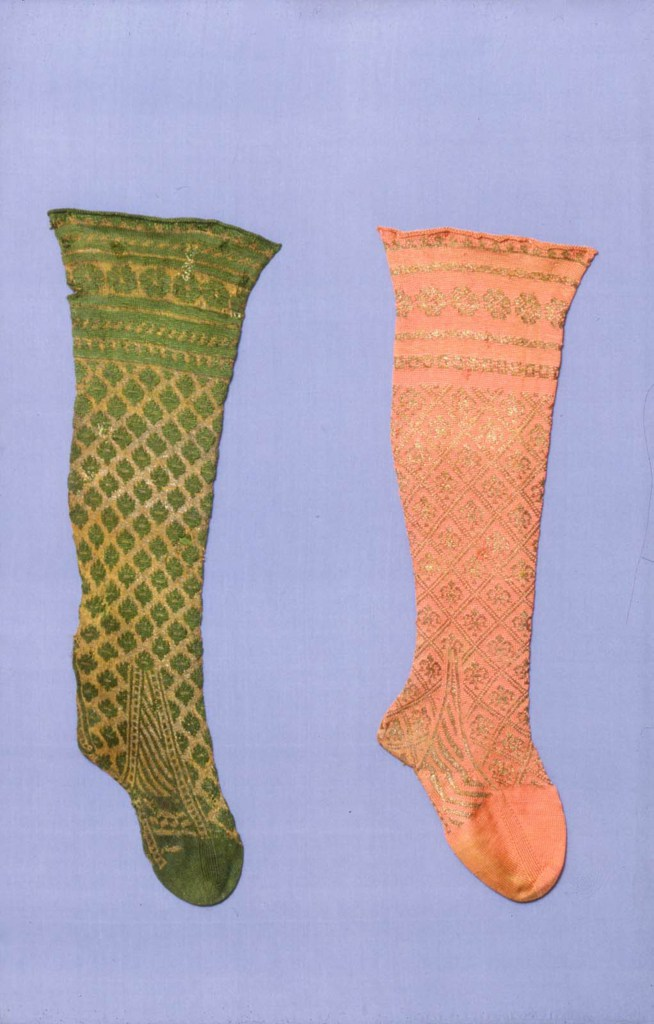 colored antique stockings
