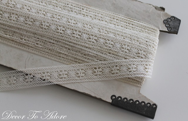 Sewing Projects lace
