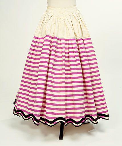 Petticoat 1860s Manchester City Galleries