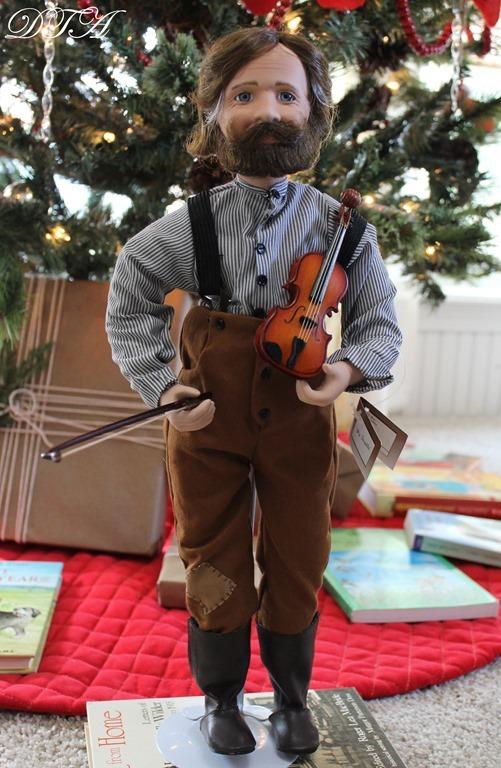 Pa Ingalls doll