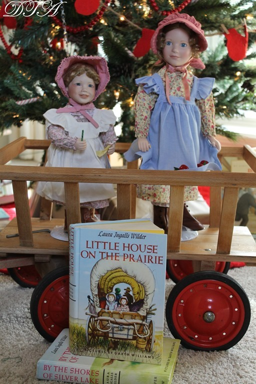 Mary and Carrie dolls