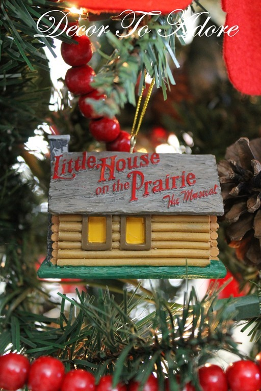 Little House ornaments