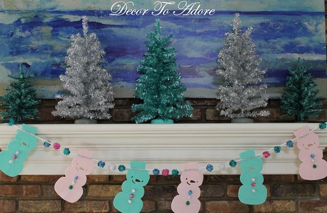 Christmas 2016 tinsel trees