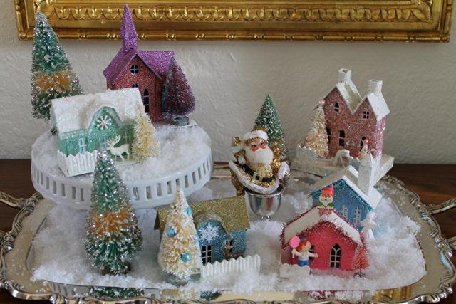 Christmas 2016 glitter santa