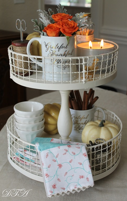 make your own tiered tray