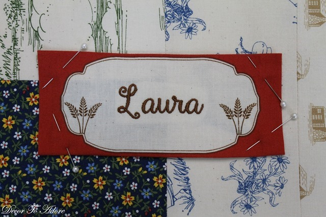 embroidered laura