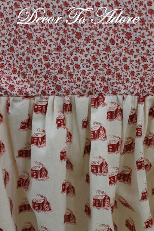 Little House Christmas Andover Fabric