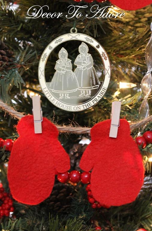 Little House ornaments