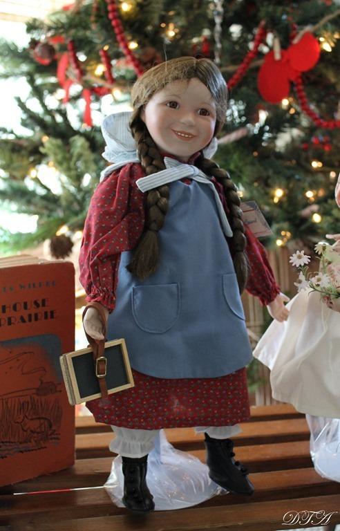 Little House on the Prairie Christmas Laura doll