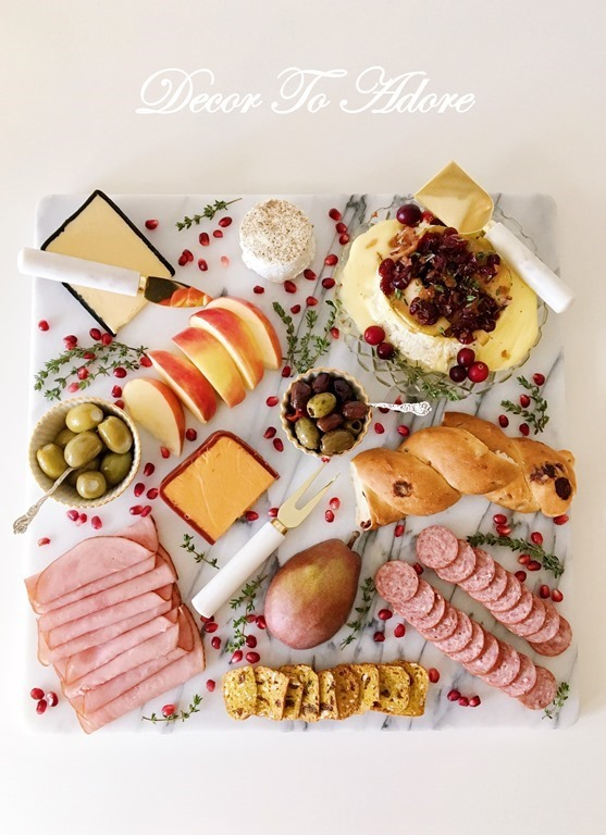 A Perfect Holiday Hors d'oeuvre The Charcuterie Board