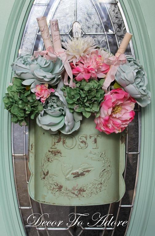 Front Door Valentine Décor