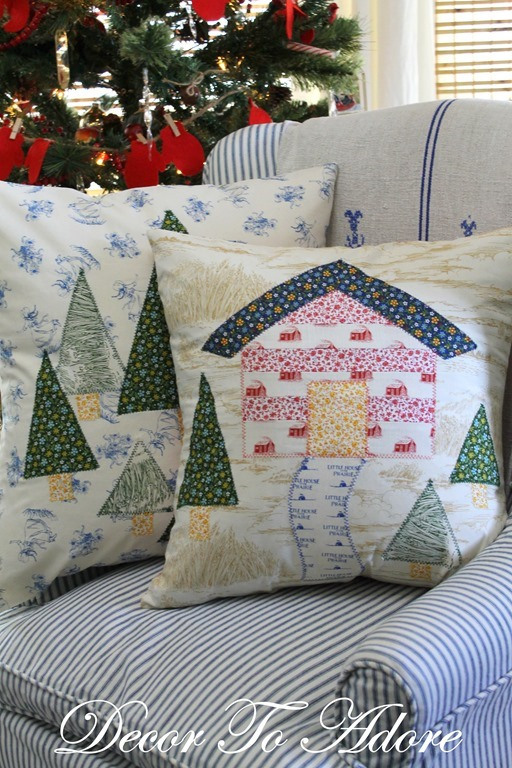 Make Your Own Little House Inspired Pillows